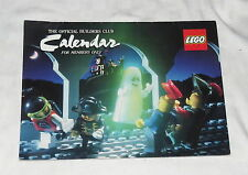 LEGO Official Builders Club Calendar for members only 1990-1992