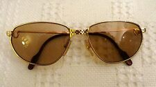 RARE VINTAGE DEADSTOCK CARTIER PANTHERE 24K GOLD PLATED SANTOS VENDOME UNISEX