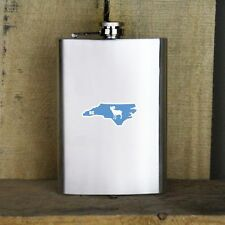 Original I Ram North Carolina Classic University Stainless Steel Flask State