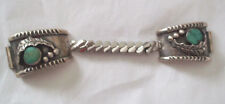 Vintage womens jewelry bracelet southwest authentic turqoise silver watch band