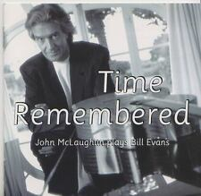 JOHN MCLAUGLIN  PLAYS BILL EVANS   CD TIME REMEMBERED