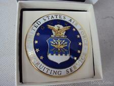 New USAF United States Air Force Enamel Recruiting ID Badge Insignia
