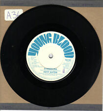 """HOYT AXTON - EVANGELINA  7"""" SINGLE c/w Hotel Ritz VG 1980 Young Blood UK Country"""