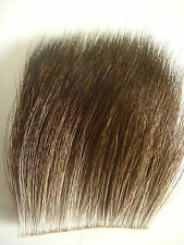 MOOSE / ELCH BODY HAIR - LARGE SIZE - NATURAL COLOR  - BINDEMATERIAL