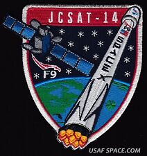 NEW JCSAT-14- SPACEX ORIGINAL FALCON 9 F-9 USAF NASA SATELLITE Mission PATCH