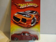 Hot Wheels Walmart Red Card Red Nissan Titan Truck w/OH5 Wheels