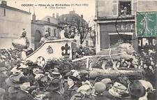 CPA 16 COGNAC FETES DE LA MI CAREME 1909 CHAR ROMAIN