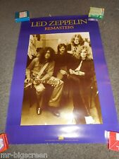 LED ZEPPELIN - REMASTERS - ORIGINAL DS ROLLED PROMO POSTER - 1992