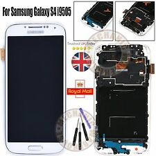 FOR SAMSUNG GALAXY S4 GT i9505 i9508 LCD TOUCH SCREEN DISPLAY DIGITIZER WHITE UK