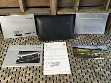 1999 MERCEDES CL500 CL600 OWNERS MANUAL RARE SET + RADIO BOOK ((BUY OEM))