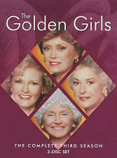 The Golden Girls - The Complete Third Season 3 (DVD, 2016, 3-Disc Set)