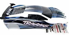 XO-1 UPDATED 2014 BODY shell WHITE (brand new painted cover & decal Traxxas 6407