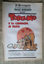 Topolino  e la compagna di Pluto -  supplemento a Il Messaggero - Walt Disney