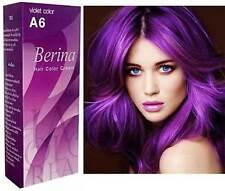 2x  Lila Purple Violet Haar Färben Haare färben permanent Haarfarbe Berina A6