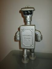 Gedney Bender Futurama Handmade Scrap Metal Art Droid Robot Figure Steampunk