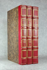 LA FONTAINE. FABLES, CONTES.  JULES DAVID. TONY JOHANNOT. 1837-1839. 3 VOLUMES.