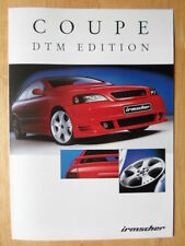 IRMSCHER Opel Astra Coupe DTM Edition 2002 - German text