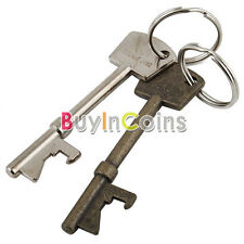 Key Ring Bar Tool New Bottle Opener Keyring Chain Metal