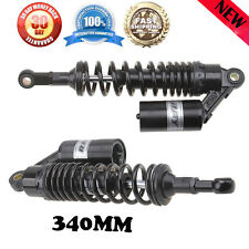 340mm Pair Air Shocks Rear Suspension Replace For Honda CB750 CB 750 Absorbers