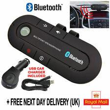 Bluetooth HandsFree Speaker Car Kit Visor Clip for Mobile Smart Phone Wireless