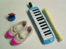 BANDAI miniature key board Recorder Castanets school shoes pink