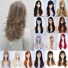UK Clearance Price Natural Full Head Wigs Straight Curly Wavy Cosplay Full Wig
