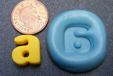 "Reusable Letter ""A"" Silicone Food Safe Mould, Mold, Sugarcraft, Jewellery, Cake"