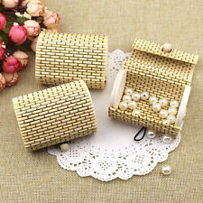 Bamboo Storage Box Home Organizer Jewelry Beads Boxes Wooden Trinket Storage