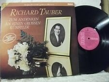 VL 30362 RICHARD TAUBER In Memory of A Great Artist WEBER WAGNER RCA 2LP MONO