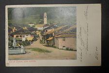 CARTOLINA BELLUNO TAI DI CADORE CASE RUSTICHE VIAGGIATA DEL 1900 SUBALPINA AAA