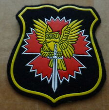 Russian  army  spetsnaz GRU military  INTELLIGENCE   patch  #418 sasa