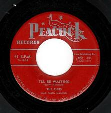 EARLY DOO-WOP BALLAD-CLEFS-PEACOCK-1643-I'LL BE WAITING/PLEASE DON'T LEAVE ME