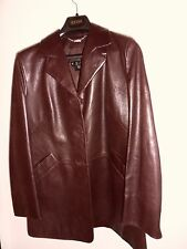 TRAUM LUXUS COUTURE ESCADA Tracht LEDER JACKE leather JANKER 36/38 NP2.500,braun