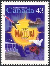 Canada 1995 Manitoba/Dam/Hydro-Electric/Energy/Canoe/Rocket/Dancer 1v (n45597)