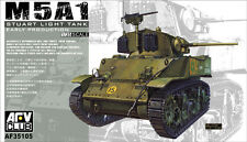 AFV Club 1/35 AF35105 WWII US M5A1 STUART Light Tank (Early Production)