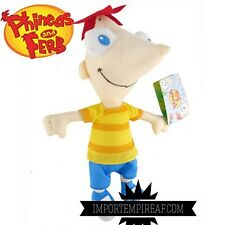 PHINEAS E FERB PELUCHE GRANDE 35 CM pupazzo Flynn plush doll and et y und perry