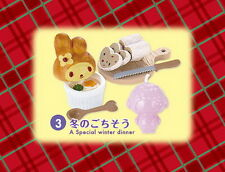 Dollhouse Re-ment Miniature Sanrio My Melody Winter  Vacation  Rement No.03