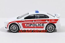 "2016 Matchbox ""Gift Pack Exclusive"" Mitsubishi Lancer Evolution X Police MINT"
