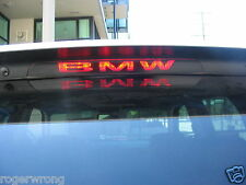 BMW X5 E53 3rd brake light decal overlay 2000-2006