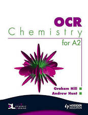 OCR Chemistry for A2 Student's Book, Andrew Hunt, Graham Hill, Very Good conditi