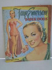Vintage Faye Emerson Paper Dolls