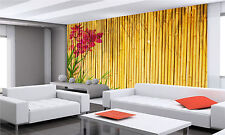 Bamboo Background Wall Mural Photo Wallpaper GIANT WALL DECOR PAPER POSTER