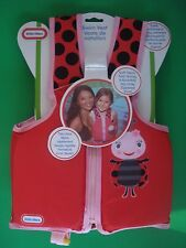 LITTLE TIKES SWIM TRAINER LIFE VEST LITTLE LADY BUG 3 YR AND UP NEW
