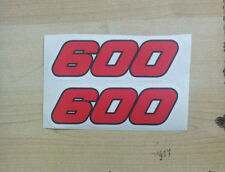 Loghi Yamaha TT 600 1984/85 - adesivi/adhesives/stickers/decal