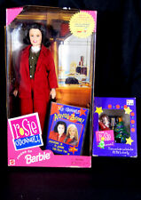 NIB BARBIE DOLL 1999 ROSIE O'DONNEL & CHRISTMAS TREE ORNAMENT