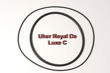 SET BELTS UHER ROYAL DE LUXE C TO REEL EXTRA STRONG NEW FACTORY FRESH