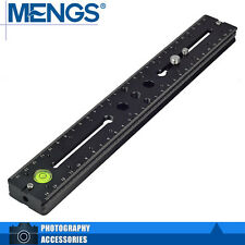 MENGS BPL-300 Quick Release Plate (300mm) For Benro Sirui Kirk Tripod Ball Head