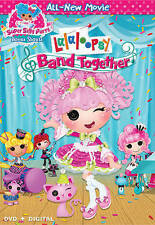 Lalaloopsy: Band Together (DVD, 2015) BRAND NEW W/SLIPCOVER
