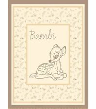 Bambi Sweet Woodland Cotton Nursery Panel ~ by the YARD