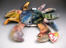 Ty Beanie Babies 1997 CLAUDE #4083 Crag With Swing Tag Protector